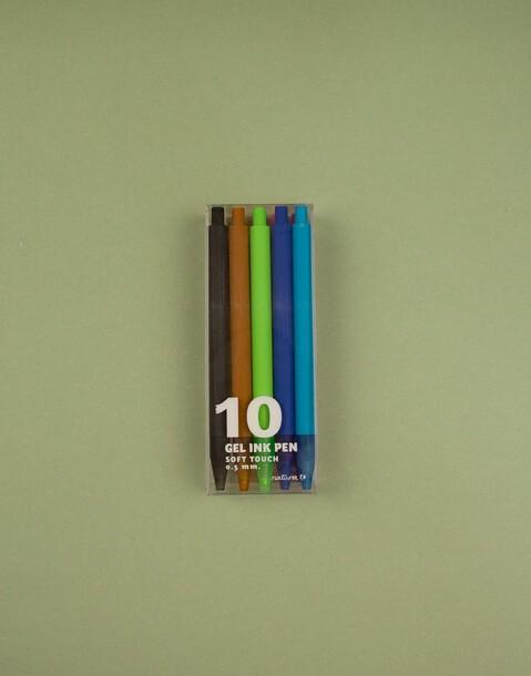 pack 10 bolis gel