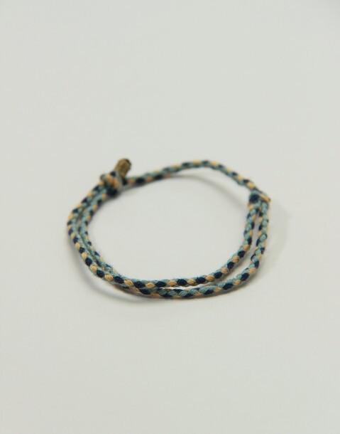 bracelet fils tressés