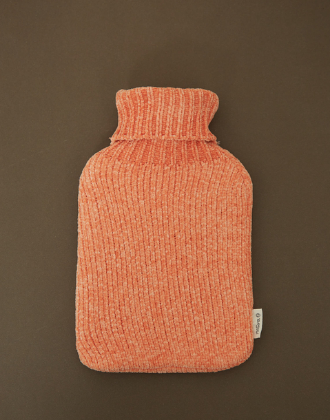 chenille hot water bag