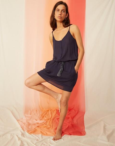 belt mini dress
