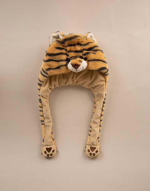 berretto sciarpa tigre