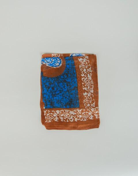 foulard seta stampa amebe