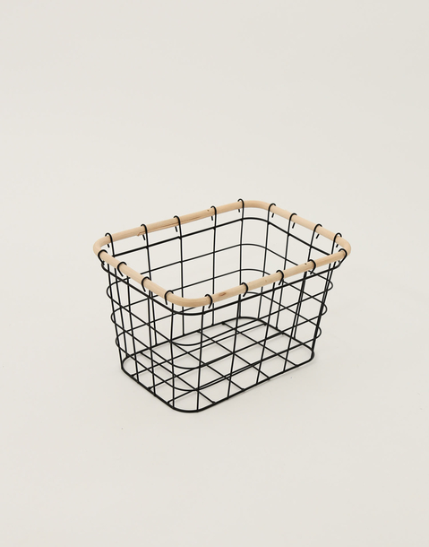 metal grid basket m