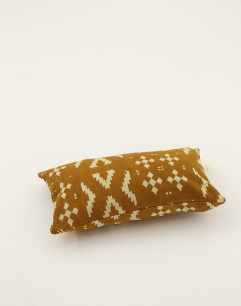 block pillow cover 30x50