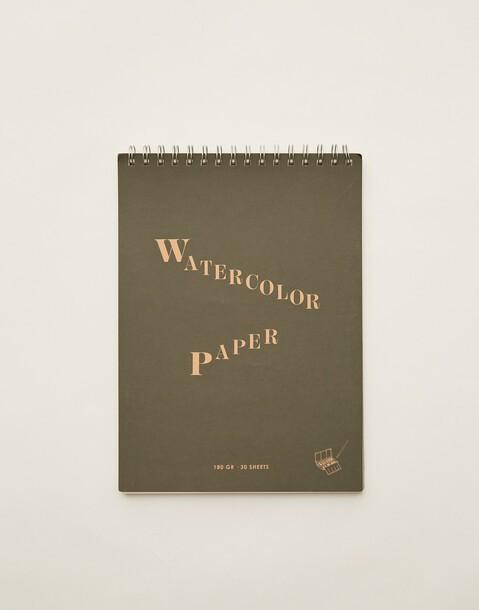 quaderno per acquerelli