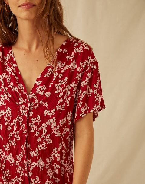 robe fleur mini