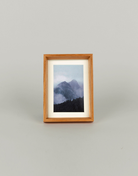 oak photo frame 10*15