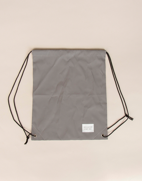 reflective drawstring backpack