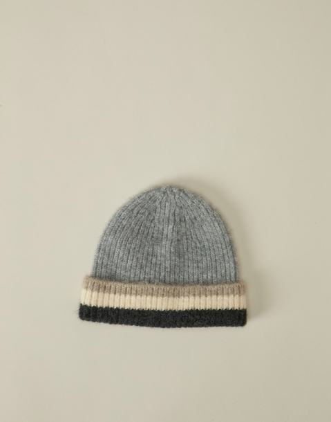 stripes fisherman beanie