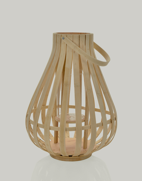 bamboo candle holder 30*40 cm