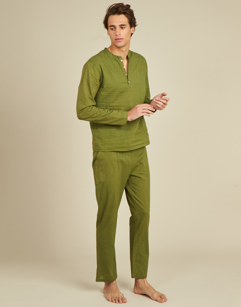 meditation homewear men set
