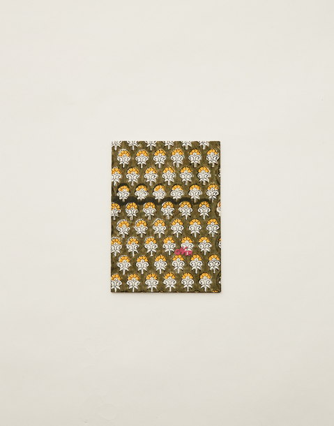 block print notebook