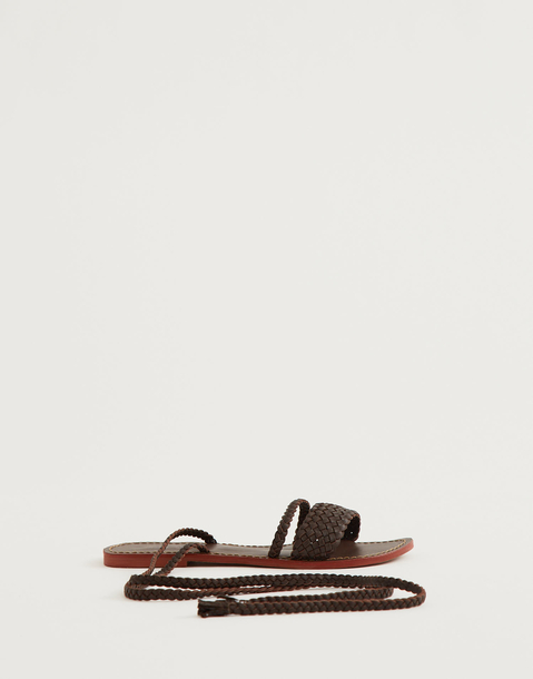 strapy leather sandal
