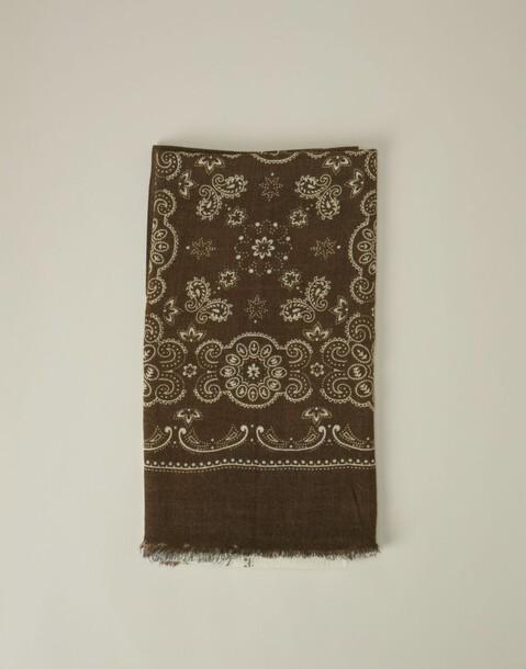 tricolor foulard