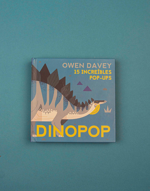 dinopop. 15 increibles pop-ups