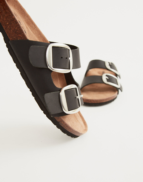 leather ergonomic sandal