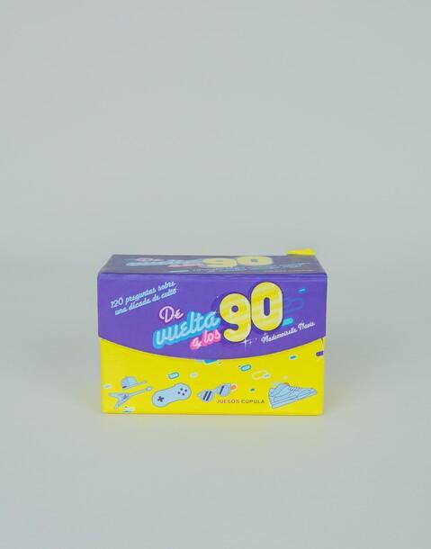 """""""de vuelta a los 90"""" game"""
