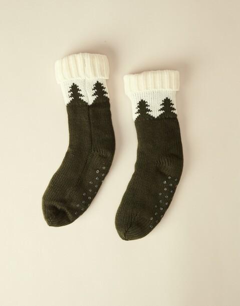 knitted men's socks