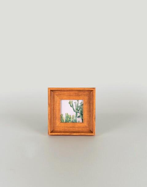 wooden frame 10 x 10 cm