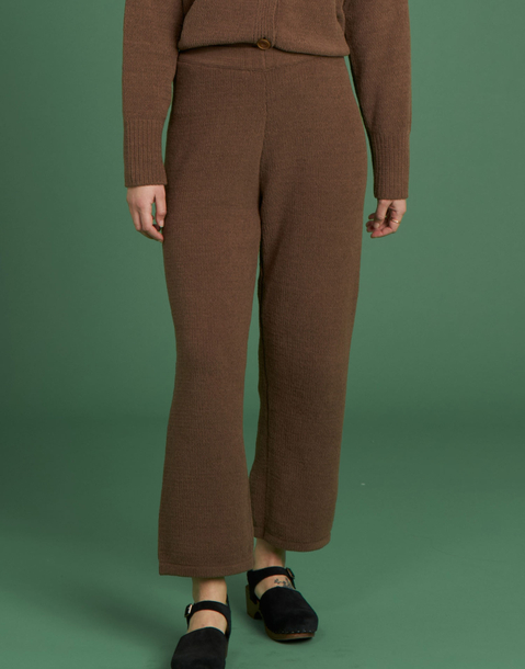 chenille long pants