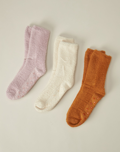 basic fleece socks 3-pack