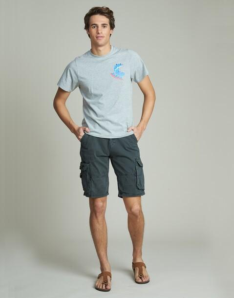bermuda hombre con bolsillos