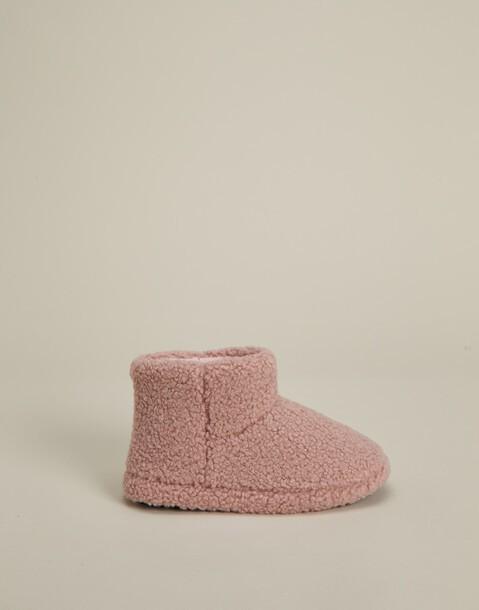 bota tejido rizo