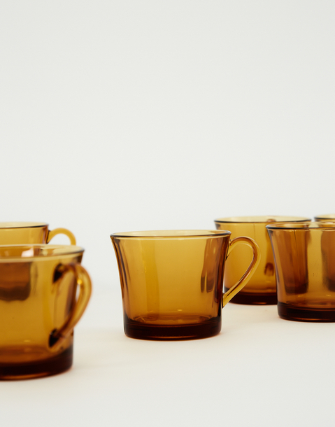 amber cup 6-piece