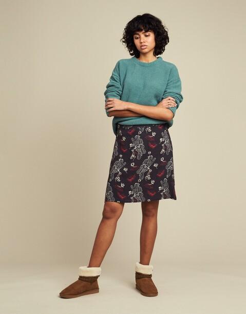 falda corta print japones