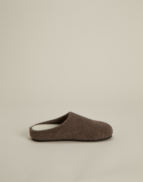 pantofole flanella uomo
