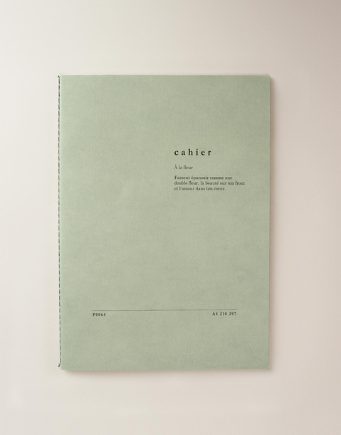 a4 cahier notebook