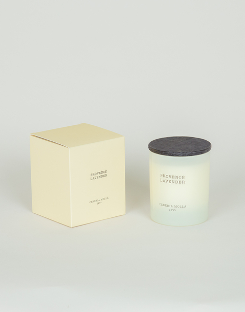 premium candle with cover