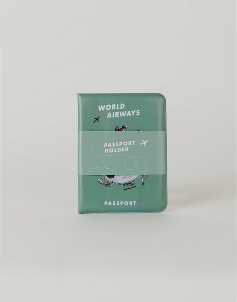 animals world passport holder