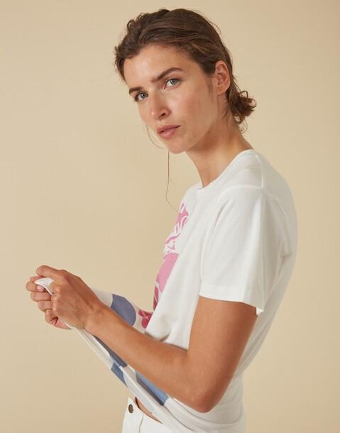 hibiscus organic t-shirt