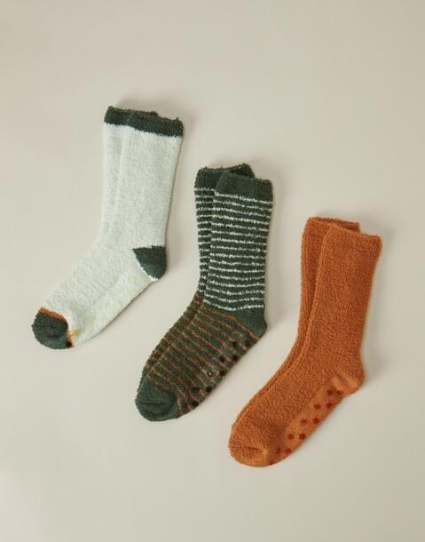 set 3 calcetines suaves hombre