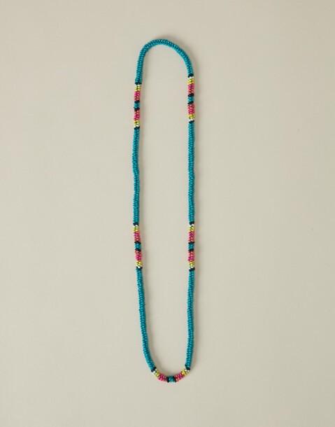 sautoir cordon perles