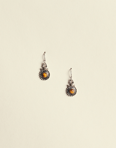 INDIAN STONE EARRING