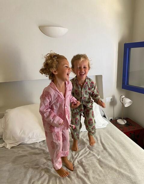 ensemble pyjama imprimé indien