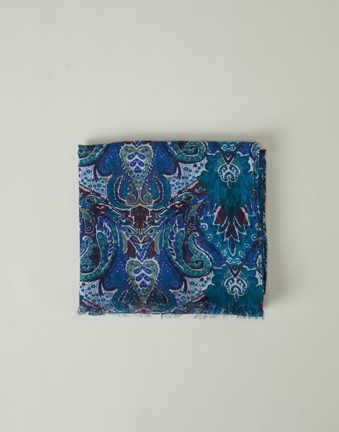 baroque printed foulard