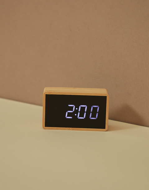 temperature alarm clock