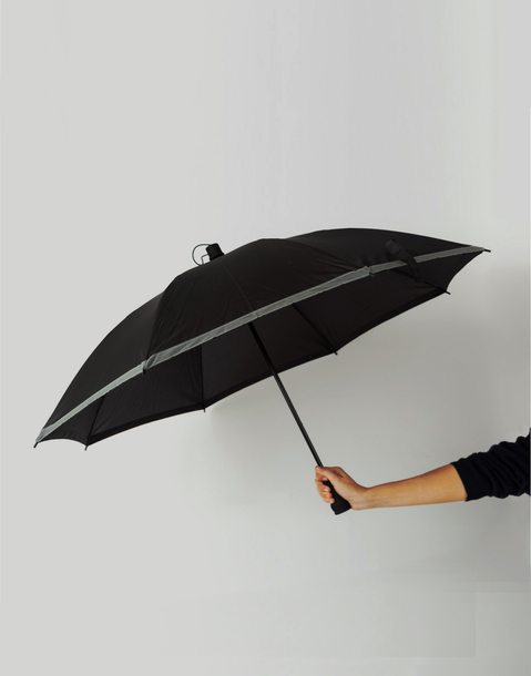 high-visibility umbrella