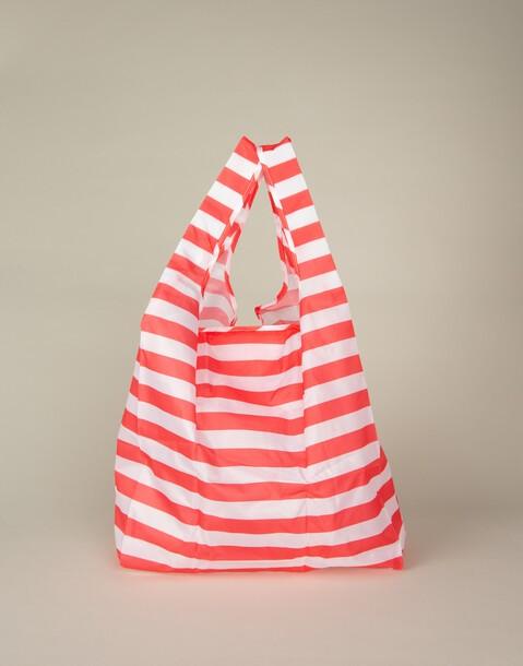 stripes folding bag