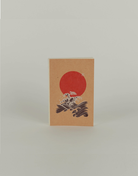 japanese small block notebook
