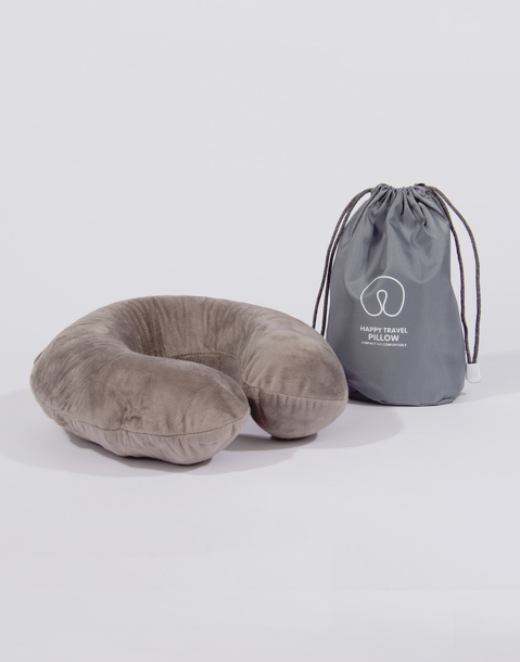velvet travel neck pillow