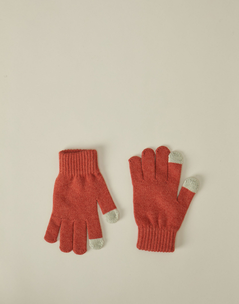 gants tricot touch