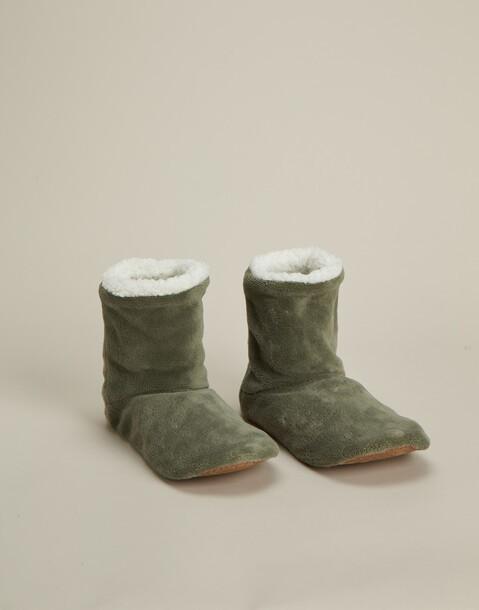 pantofole stivaletto basic uomo