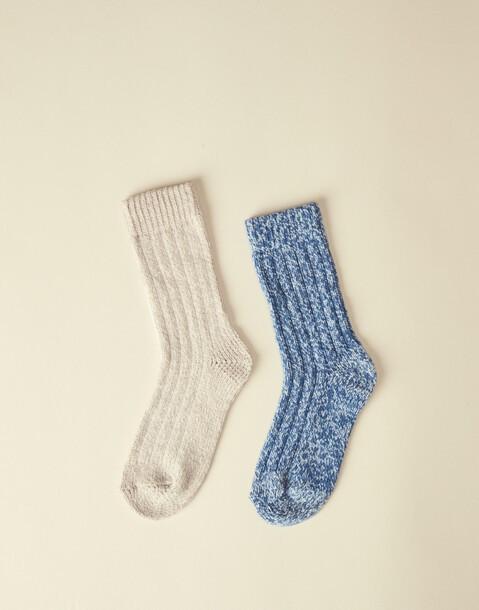 fleece socks 2-pack
