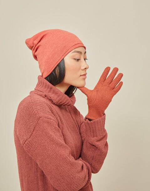 gants touch laine et velours