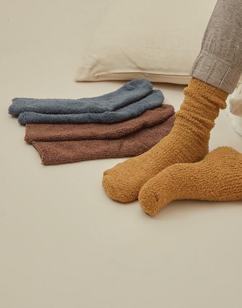set 3 calcetines chenilla hombre
