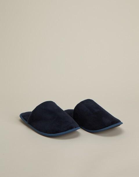 pantofole basic aperte uomo